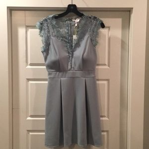 BCBG sz 4. NEw with tags light blue party dress